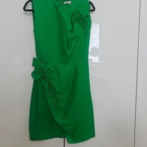 Diane Von Furstenberg Dresses - DVF green dress